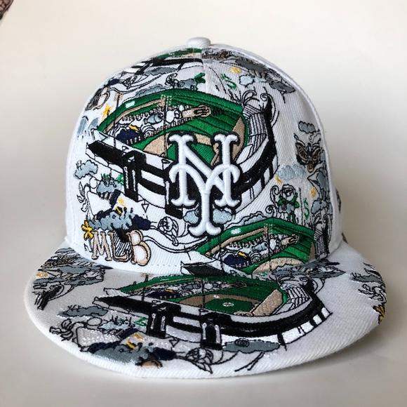 ec0efc7d 59Fifty NY Yankees MLB Baseball Cap, Stadium art